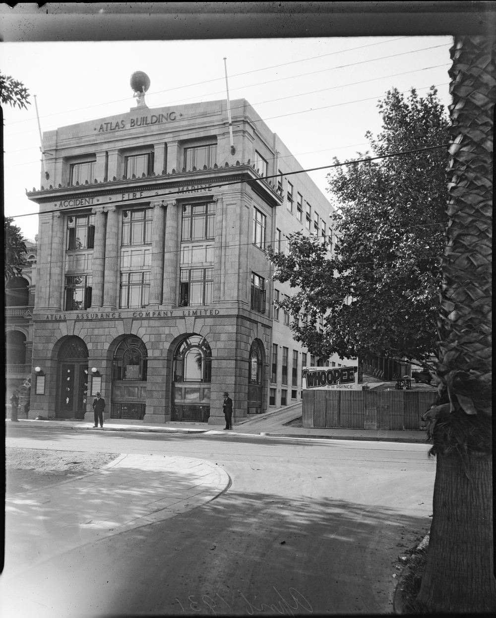 April 1931 Atlas Building State Library of Western Australia Image: SLWA 095.427P