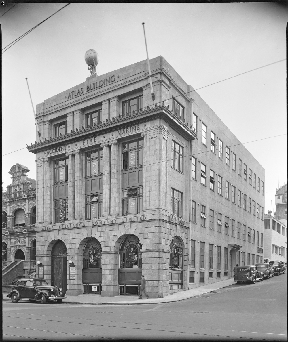 July 1935 Atlas Building State Library of Western Australia Image: SLWA 095429PD