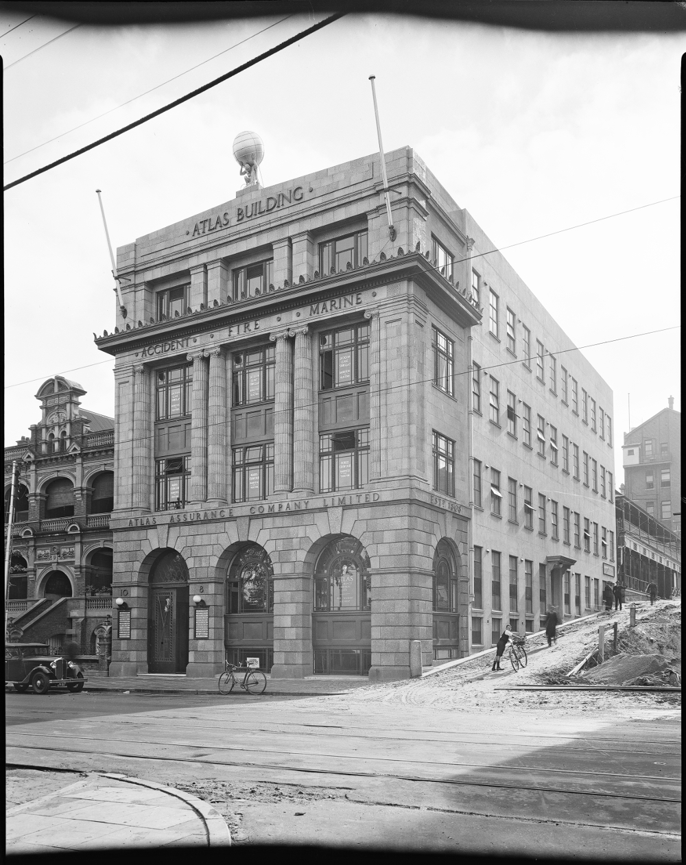 July 1931 Atlas Building State Library of Western Australia Image: SLWA 095430PD