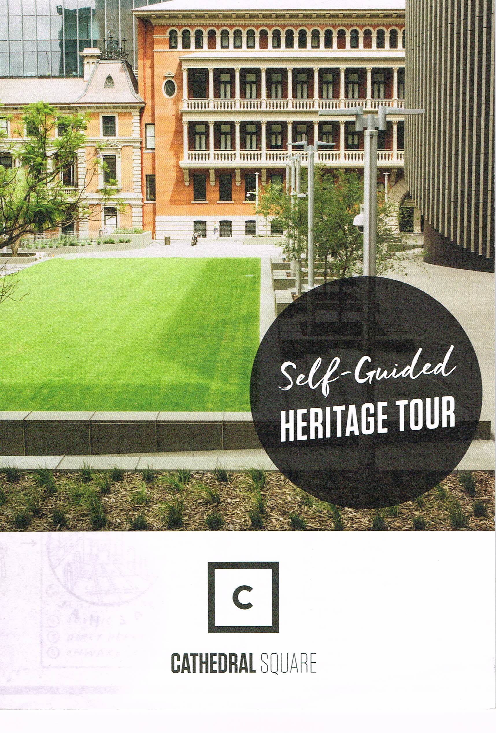 Self-Guided Heritage Tour : Cathedral Square  City of Perth