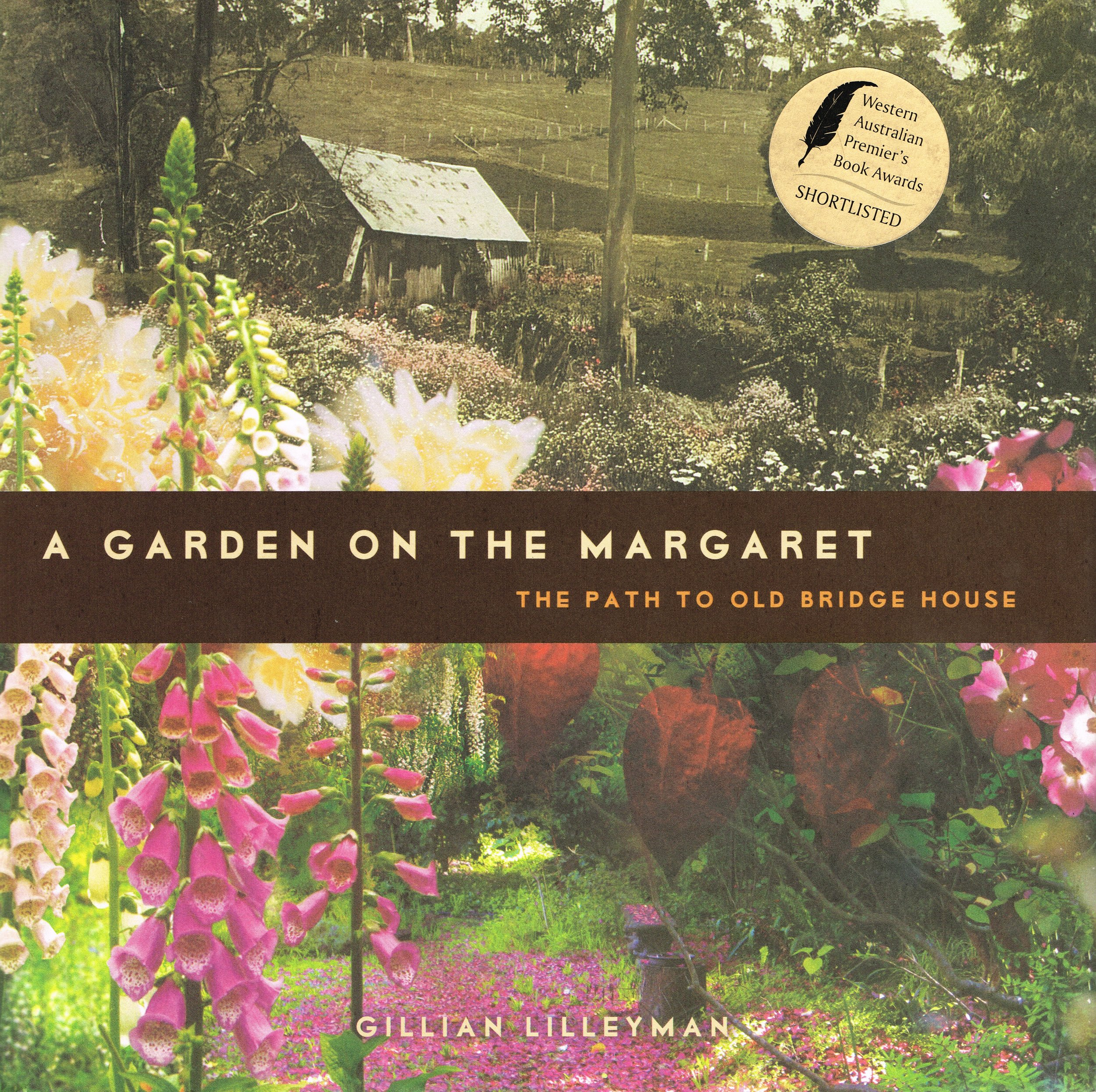 A garden on the Margaret : The path to Old Bridge House  Gillian Lilleyman