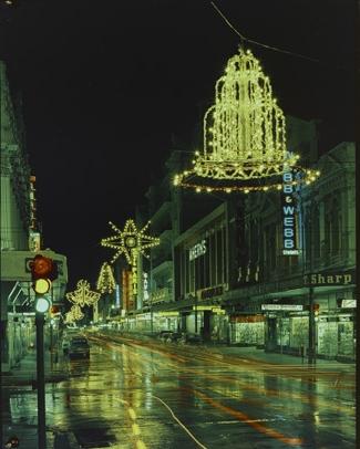 Hay Street, Christmas Lights, 1965-69
