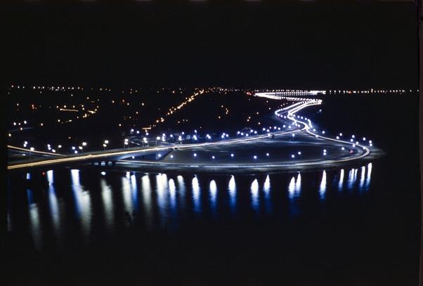 Lights of Kwinana Freeway, 1960