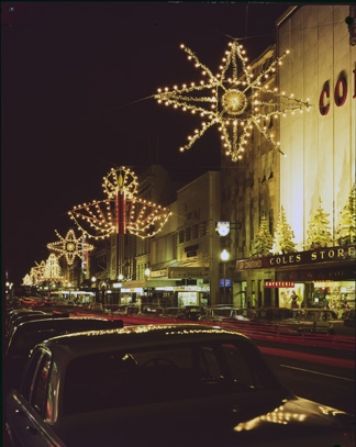 Murray Street, Christmas Lights, 1965-69