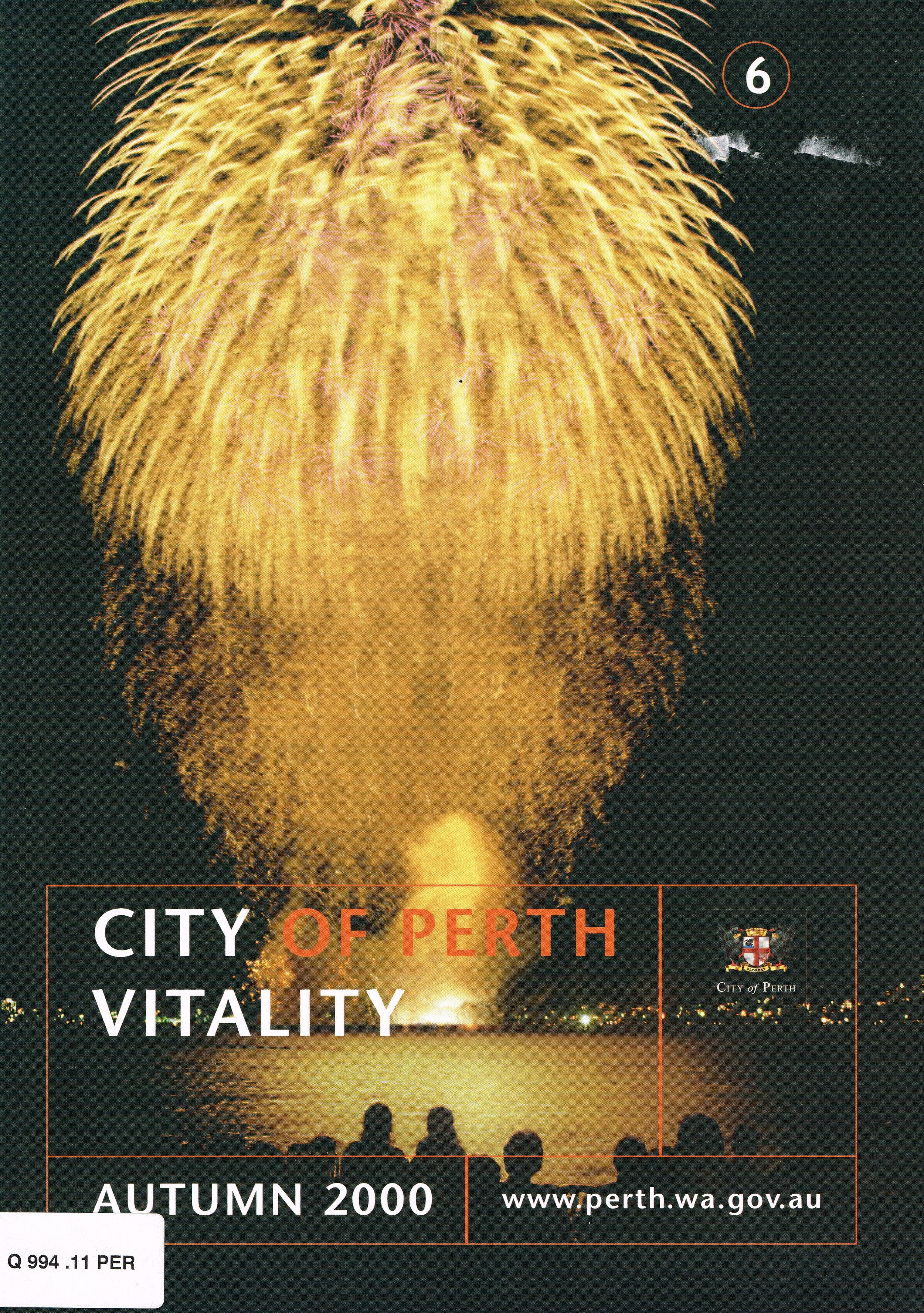 City of Perth Vitality : Autumn 2000  City of Perth, April 2000