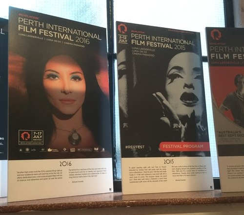 Years of the Perth International Film Festival