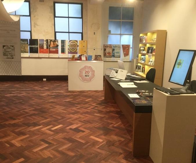 The new Atlas Building Exhibition Gallery