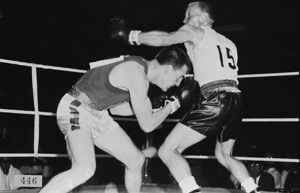 Hosted at Perry Lakes Basketball Stadium, boxing was the most widely contested event of the Games, with seven separate nations fielding gold medal winners out of the ten weight classes. Overall Ghana was the most successful nation, with six total medals going to Ghanaian athletes. (Supplied: State Library of Western Australia)