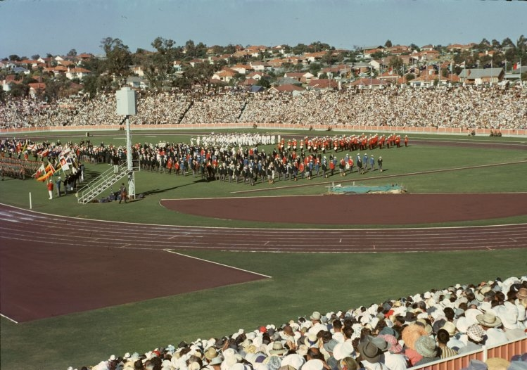 The closing ceremony on 1 December 1962 marked the end of an incredible month of sport and friendly competition that brought Perth right to the centre of the world stage. Overall Australia placed first on the medal tally with a total of 195 medals (76 gold), followed by England in second. New Zealand came third in the Commonwealth Games and Rhodesia & Nyasaland (modern day Zimbabwe) placed third in the Paraplegic Games. (Supplied: State Library of Western Australia)