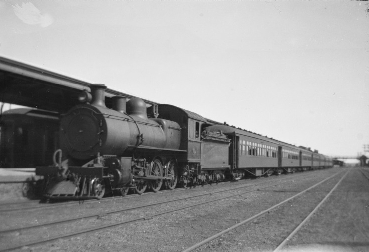 Dedicated passenger services truly began in December of 1887 with the establishment of The Kalgoorlie Express overnight service to the goldfields at Kalgoorlie-Boulder utilising the Eastern-Goldfields Railway. Hauled by Pr-class steam locomotives it ran for 51 years before being replaced by The Westland on 4 June 1938. The Westland was introduced to link with The Trans-Australian as the  track gauge between Perth and Kalgoorlie was narrow gauge, with South Australia operating on standard gauge. The Kalgoorlie Express converted to an intrastate service that operated between 1962-71, before being replaced by the current Prospector service, using Transwa WDA/WDB/WDC diesel engines, on 28 Nov 1971. Pictured above, The Kalgoorlie Express at Kalgoorlie Railway Station, 13 December 1921 (Supplied: State Library of Western Australia)