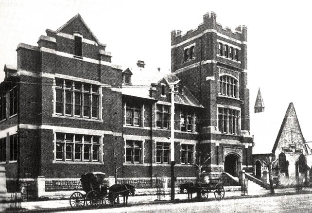 The building began use as a school again in 1900, offering classes in chemistry, assaying, engineering, art and design, woodwork, and metalwork. This was expanded upon in 1905 as the newly formed Perth Technical School was formally affiliated with the University of Adelaide to offer undergraduate courses in mathematics, physics, science, chemistry, geology, mineralogy,botany, and later biology. In order for the school to handle a large number of students, a new technical facility was purpose-built to the west of the original building,and opened in 1910. The curriculum was expanded to include blacksmithing, carpentry, engine-driving, fitting and turning, plumbing, commercial studies, pharmacy and surveying. Perth Technical School's partnership with the University of Adelaide came to an end in 1914 with the establishment of the University of Western Australia. (Supplied: oneperth)