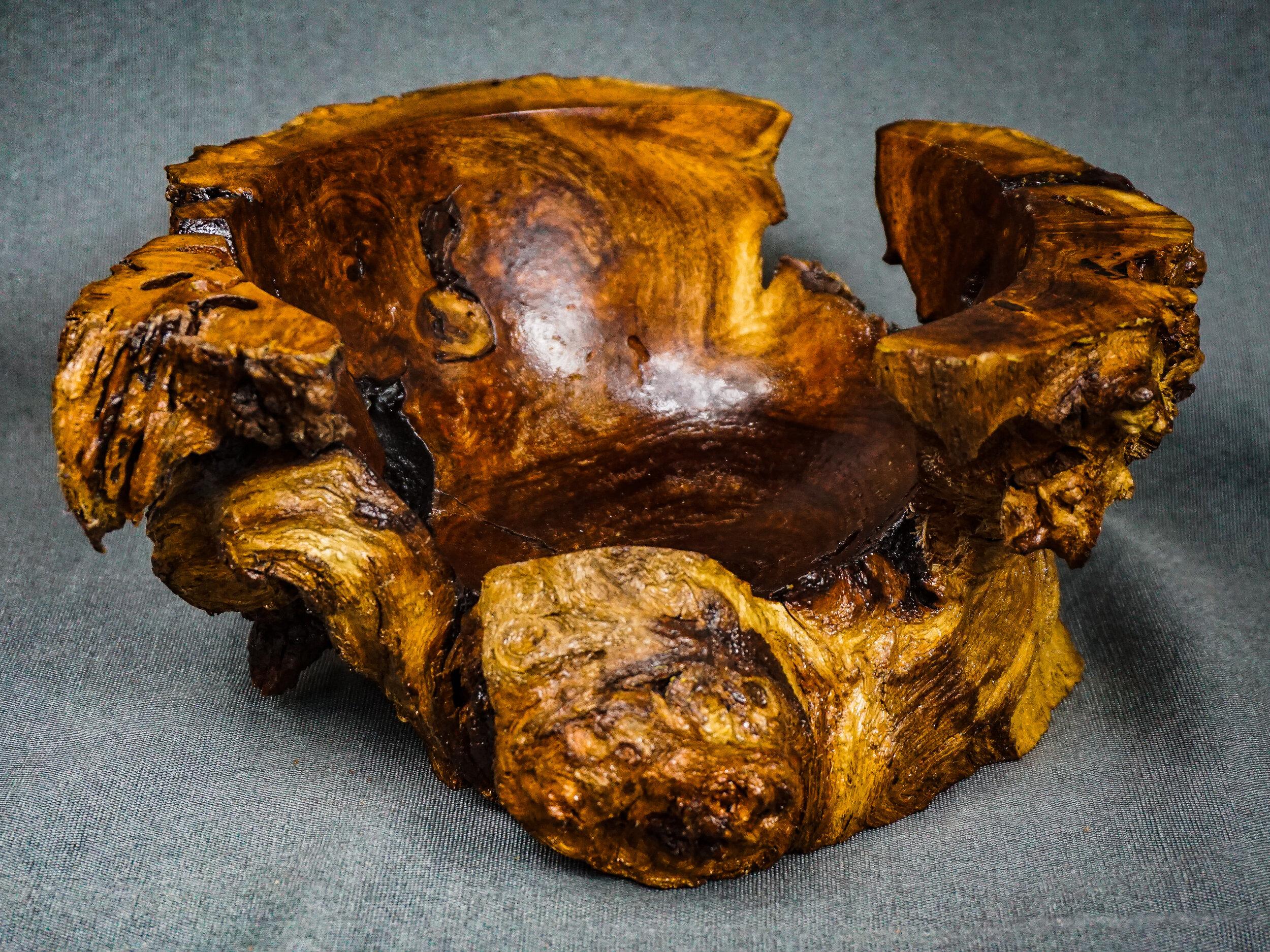 Mesquite Burl Bowl