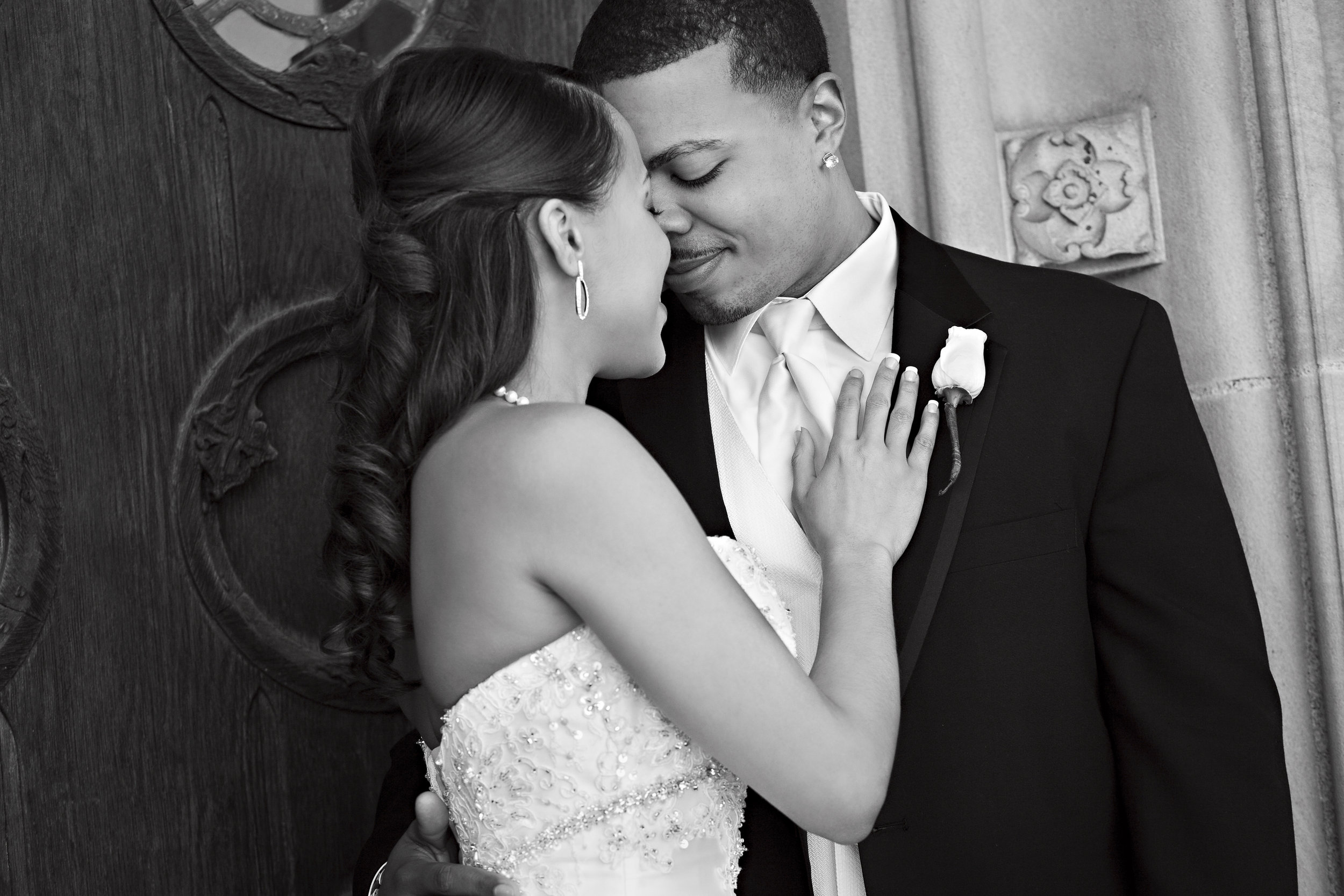 Black Wedding Couple