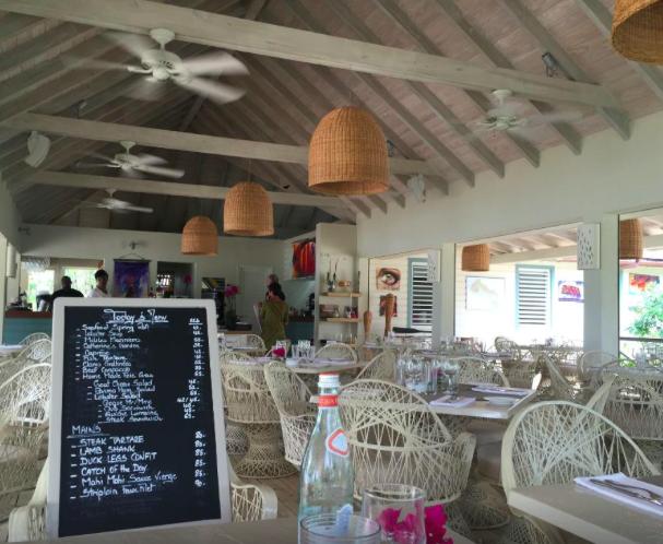 Catherines Cafe Plage- Antigua