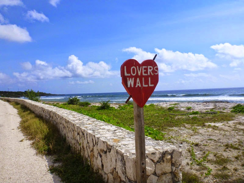 Lovers Wall Cayman Islands