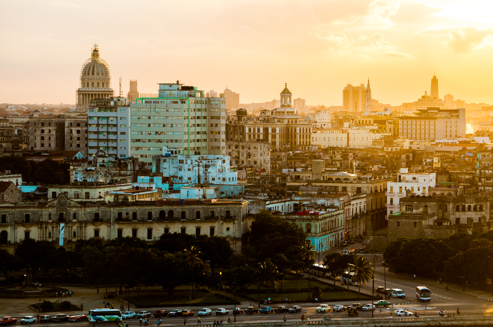 Havana at Sunset_the view from the Malecon