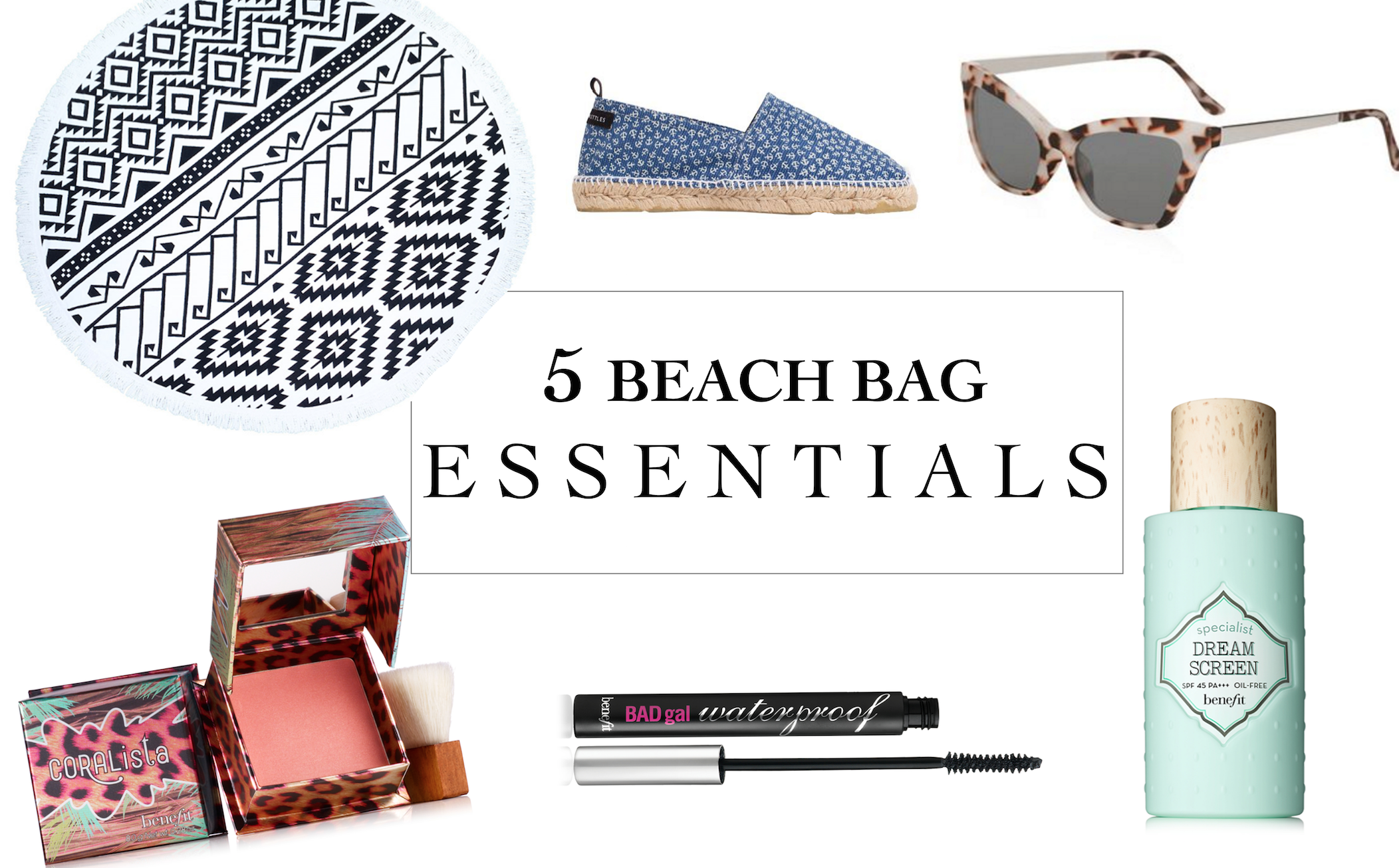 5 beach bag essentials you need for vacation