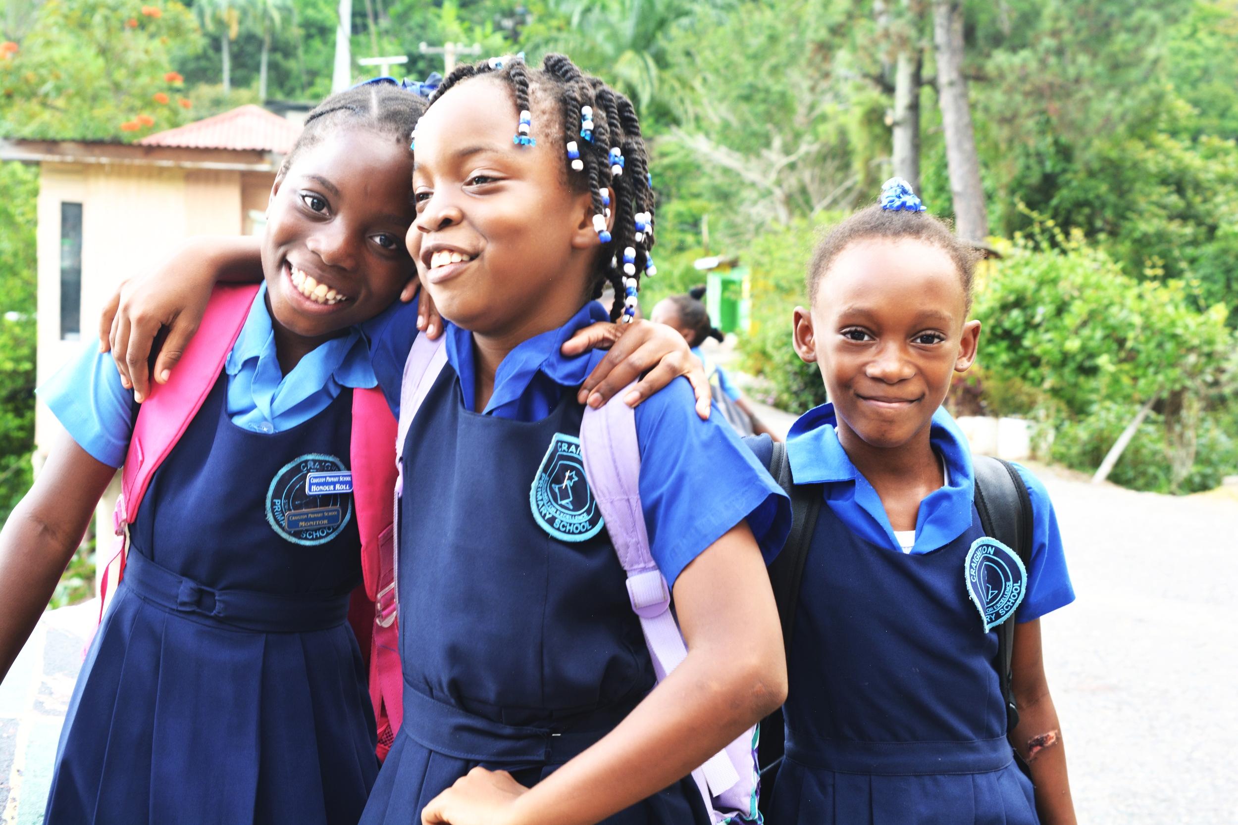 Jamaican School Children