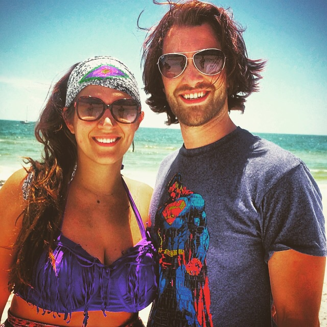 We got to go to the beautiful St.Pete beach.