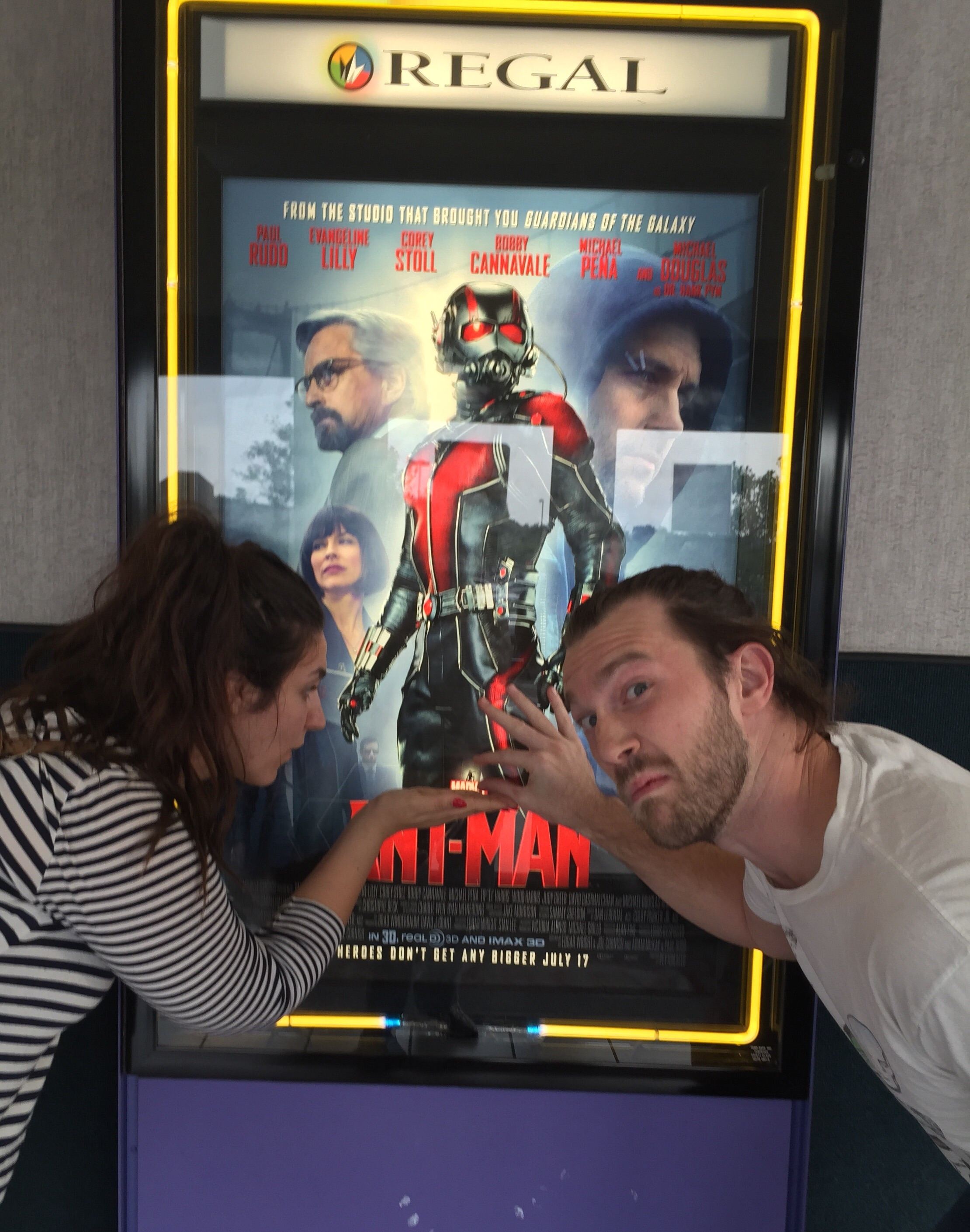 Ant-Man silliness.