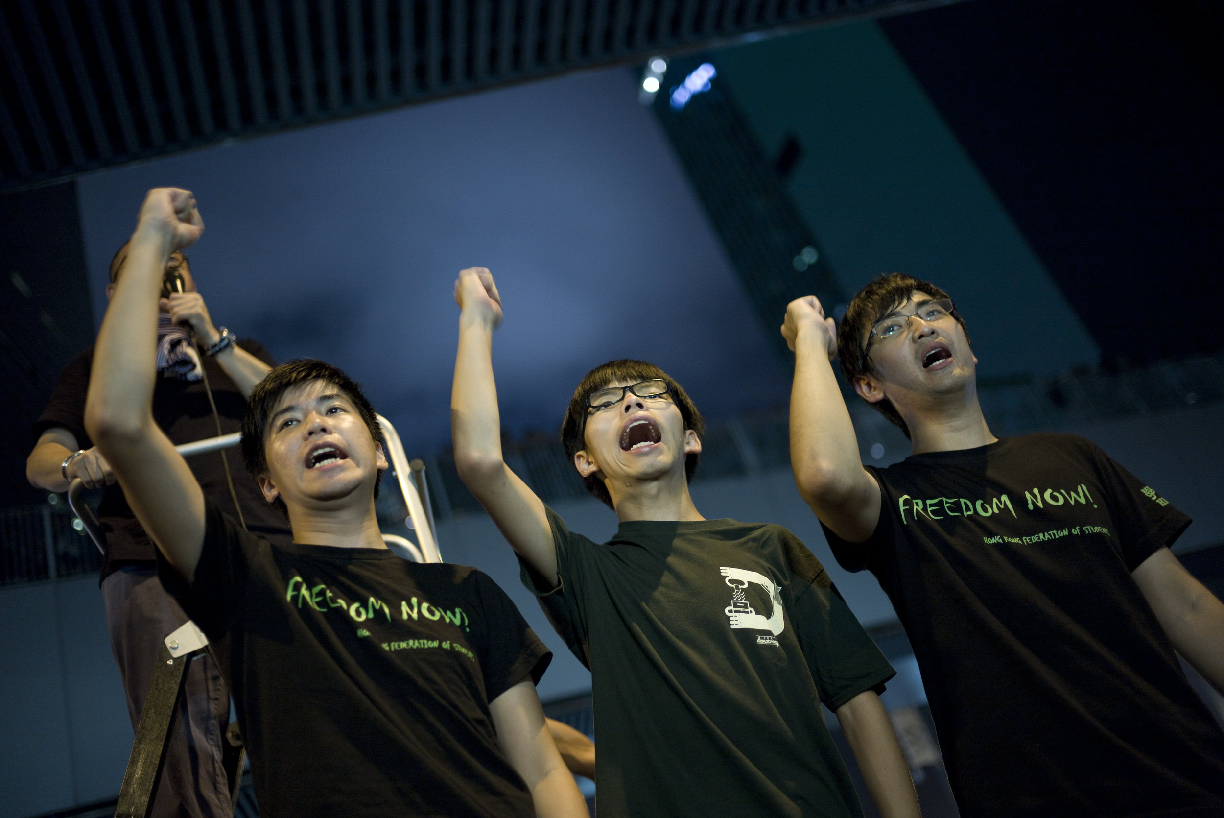 Alex Chow, Joshua Wong, Yong-Kang