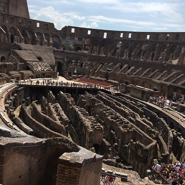 """yes, things are drastically different, but what do we see as """"normal entertainment"""" that might make later generations cringe? may we all be open hearted/minded learners who seek introspection and education. . . . #colloseum  #learn #murderisnotentertainment #tortureisnotentertainment #placesthatarehardtovisit #iamlearning"""
