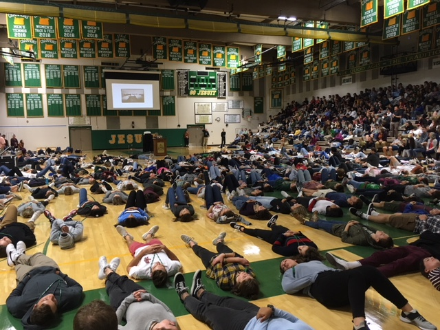 high school students rocking a 10 minute (largely silent) meditation.