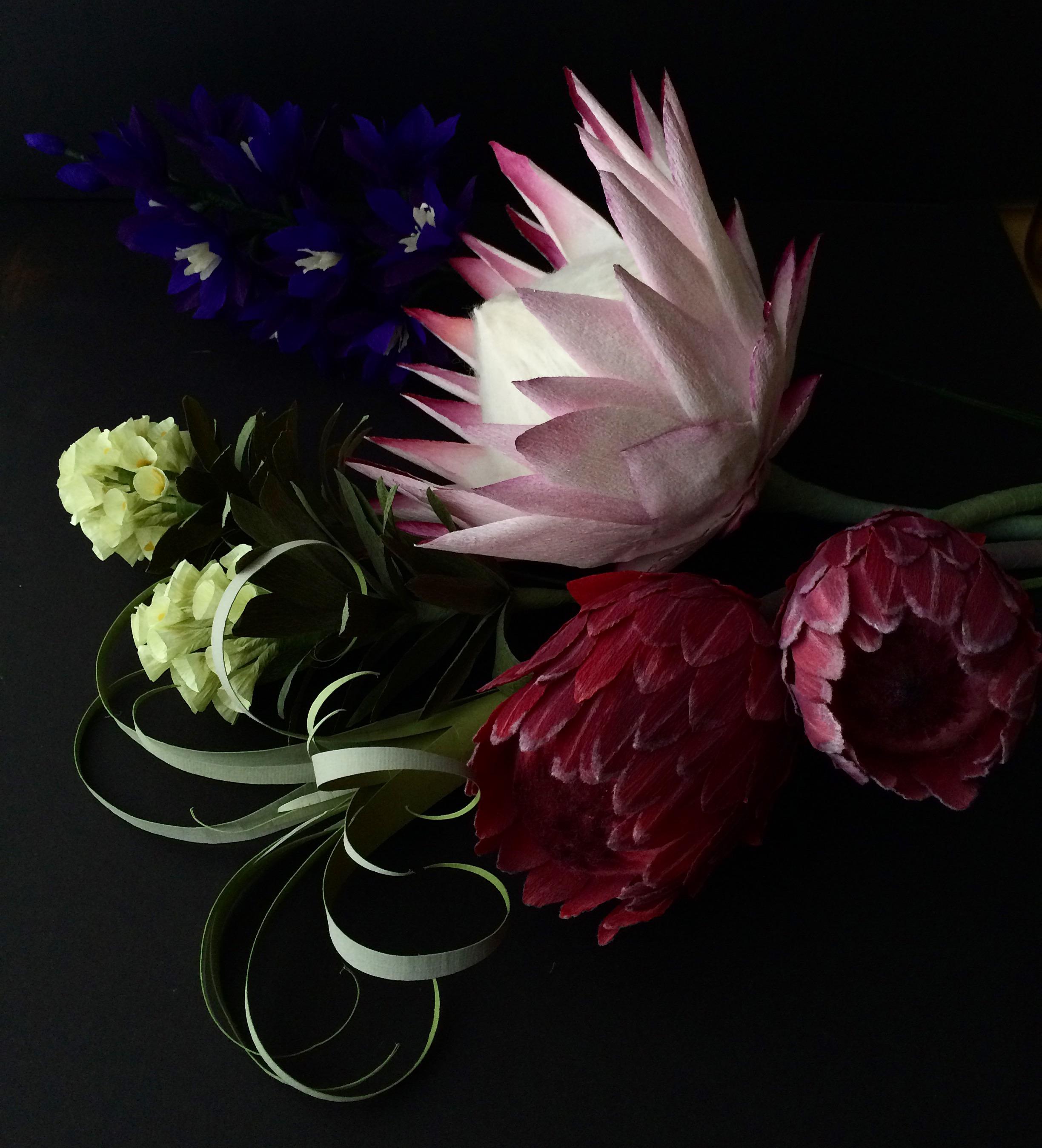 Custom protea bouquet