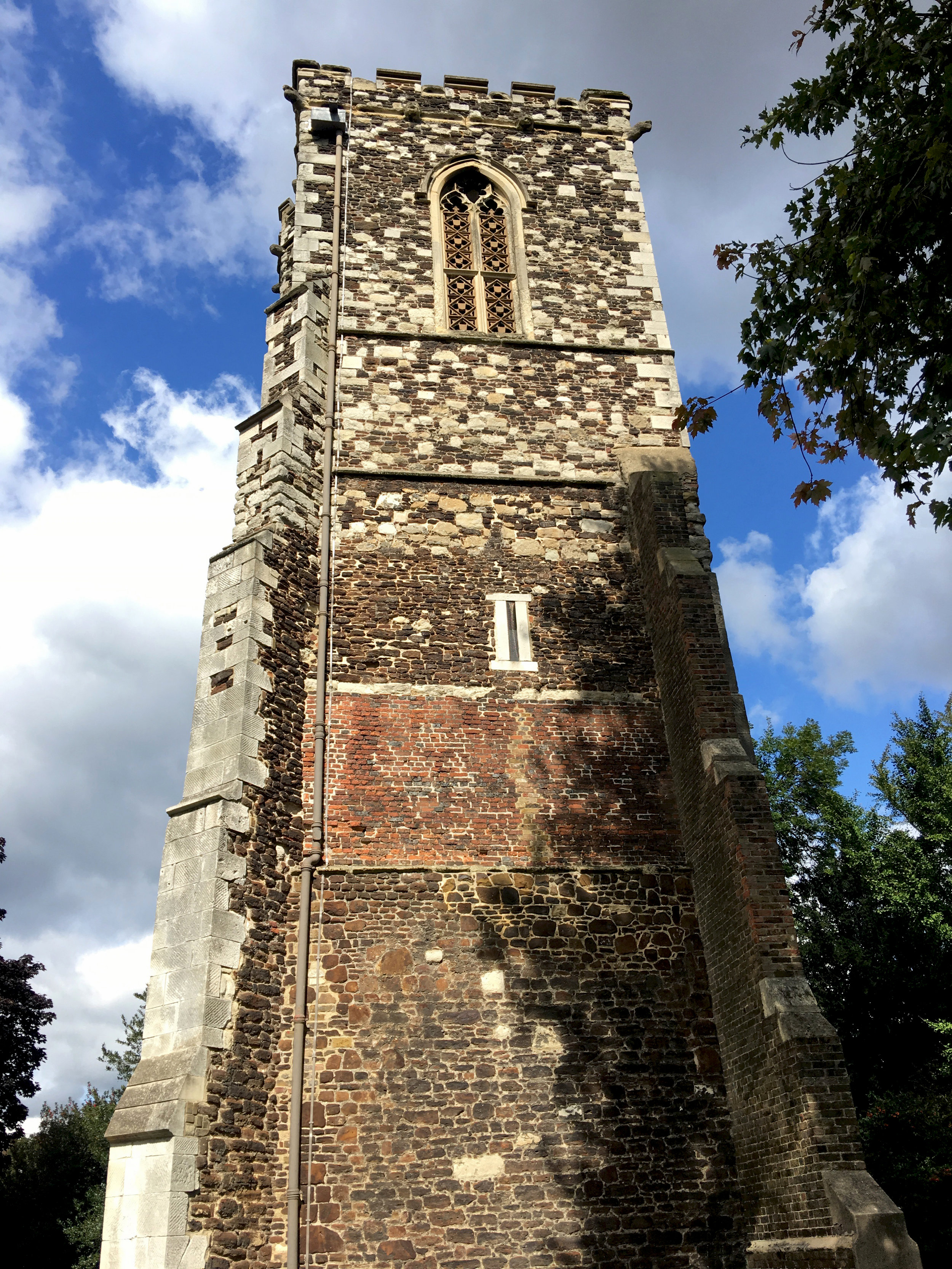 St Mary's Tower of Hornsey, the remnant of a medeival church with roots as far back as the 16th Century.