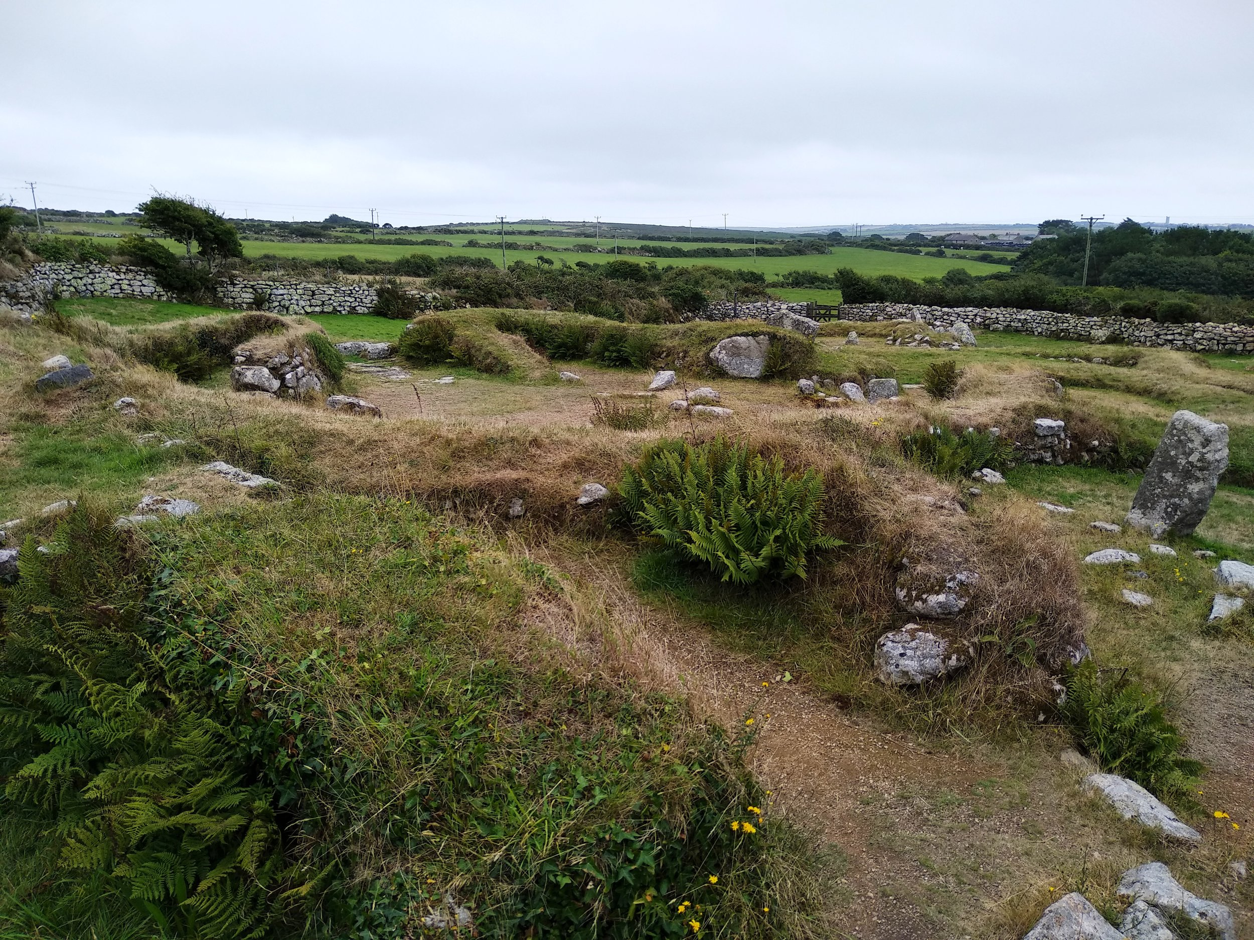 Our favorite walk was the 6-mile roundtrip to Carn Euny, an ancient settlement dating back to at least 200 BC.
