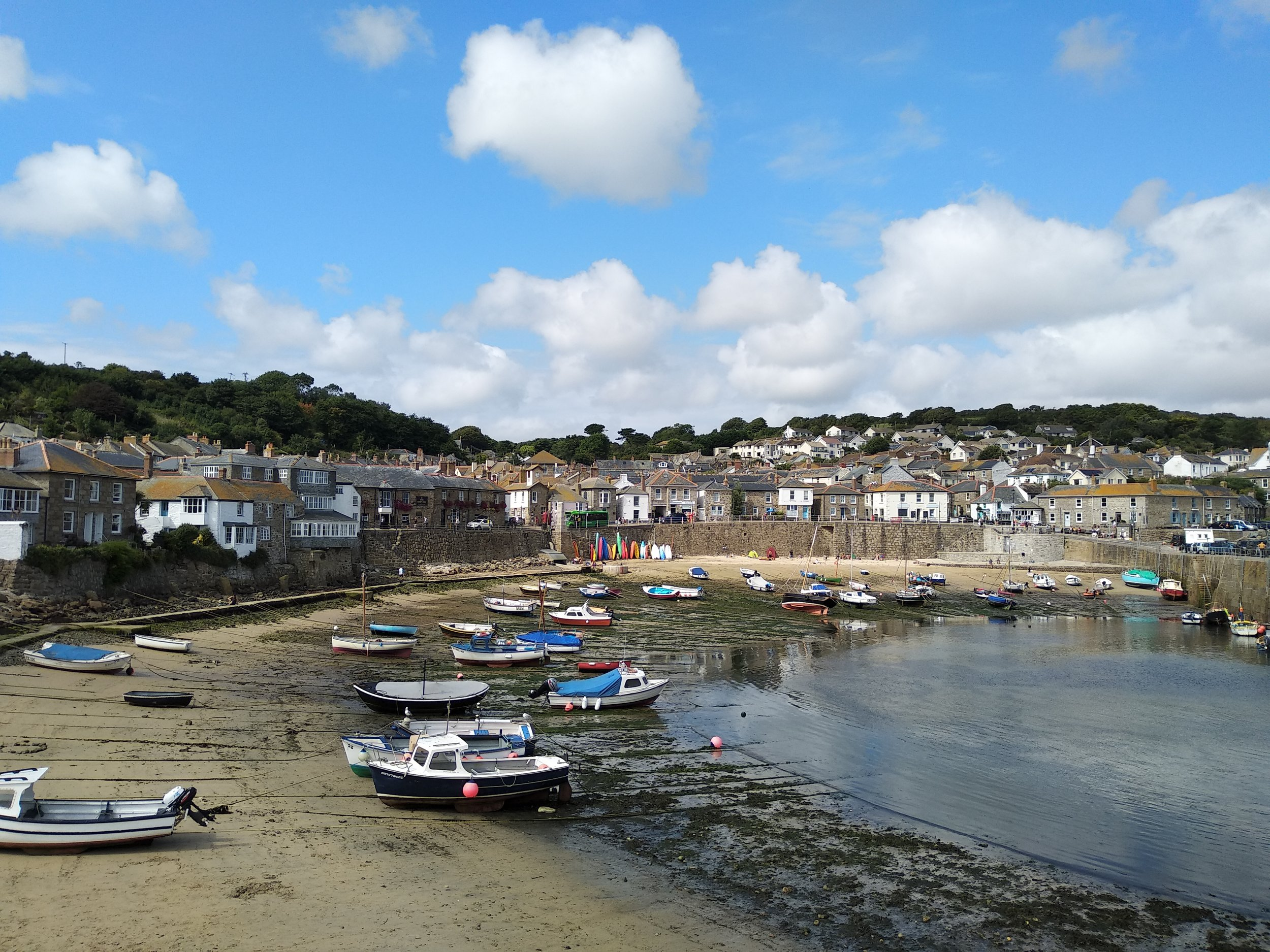 """The very picturesque town of Mousehole, which I decided to pronounce """"Mouse-hole"""" much to Kate's annoyance throughout the trip."""