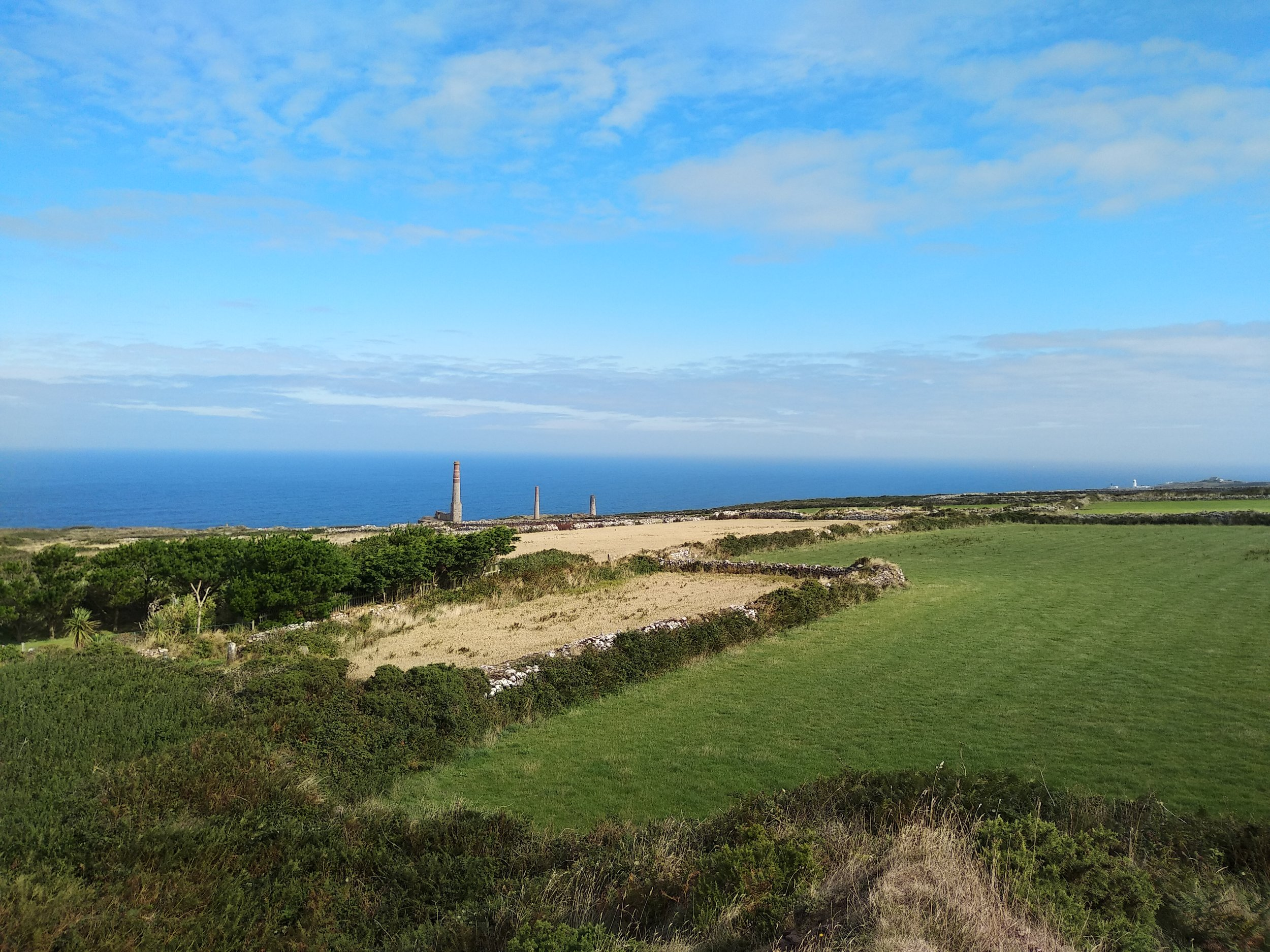 Remnants of Cornwall's tin mining infrastructure.