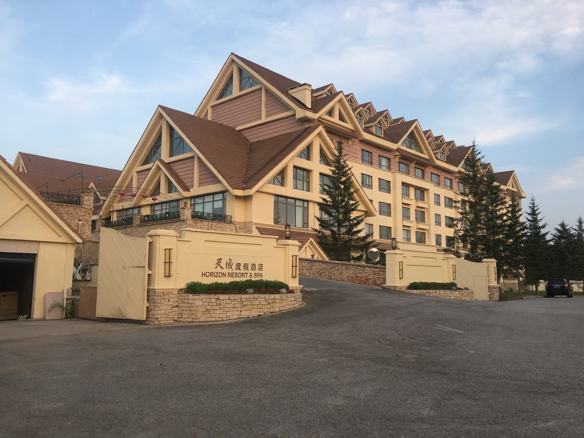 Our surprisingly well-amenitied hotel in the middle of nowhere.