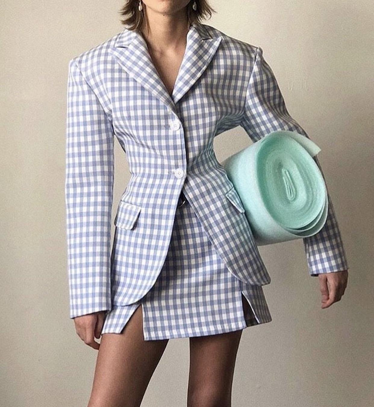 THE FRANKIE SHOP  //  Blazer  |  Skirt