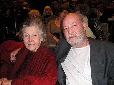 Marion Woodman and Daryl Sharp. Photo by the C.G. Jung Foundation of Ontario.