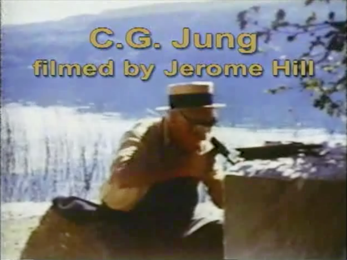 C.G. Jung filmed carving the square stone at Bollingen. Click to watch documentary footage.