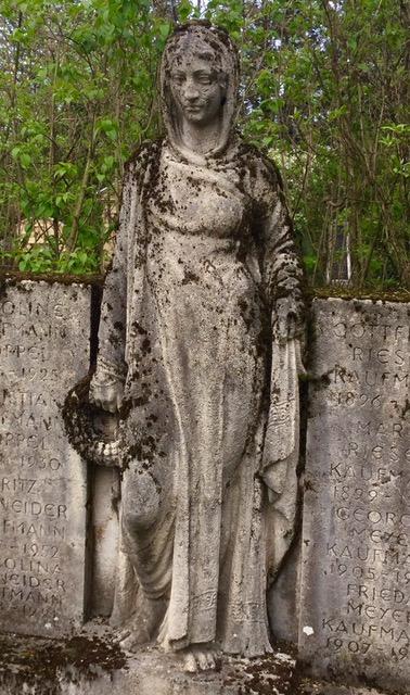 Wolfgottesacker Cemetery, Basel, Switzerland. Photo courtesy of Claudia N.