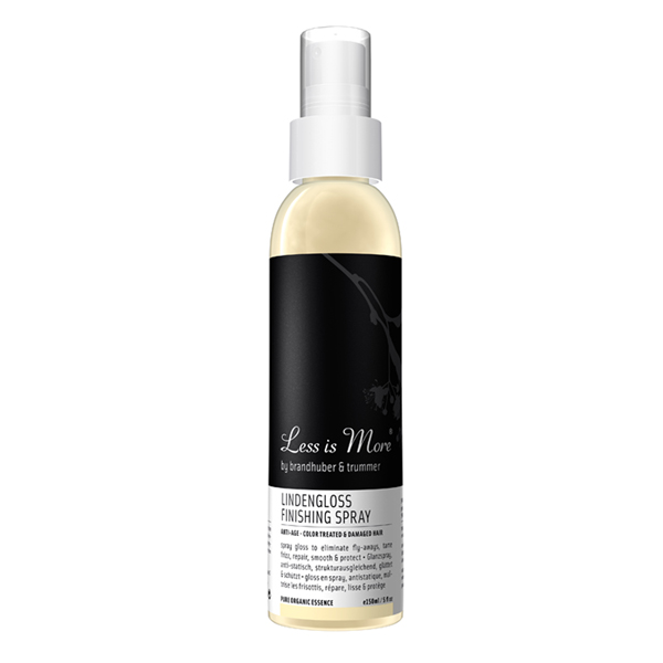 less is more lindengloss spray