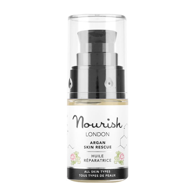 nourish argan rescue 90% organic *