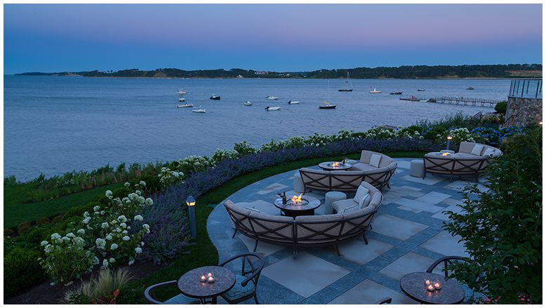Dusk at The Wequassett, overlooking the idyllic Pleasant Bay. Photo courtesy of The Wequassett.