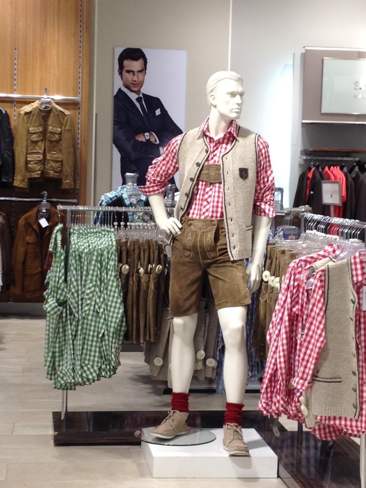 Lederhosen for Sale in Department Store - Savannah Page