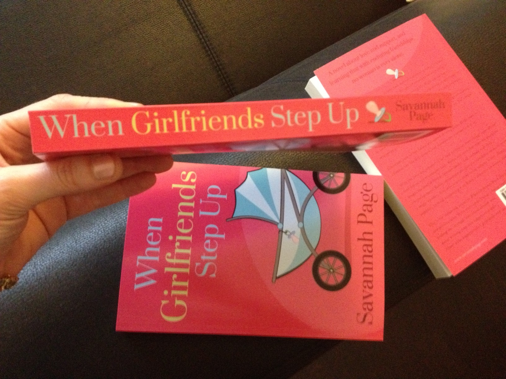When Girlfriends Step Up in Paperback - Savannah Page