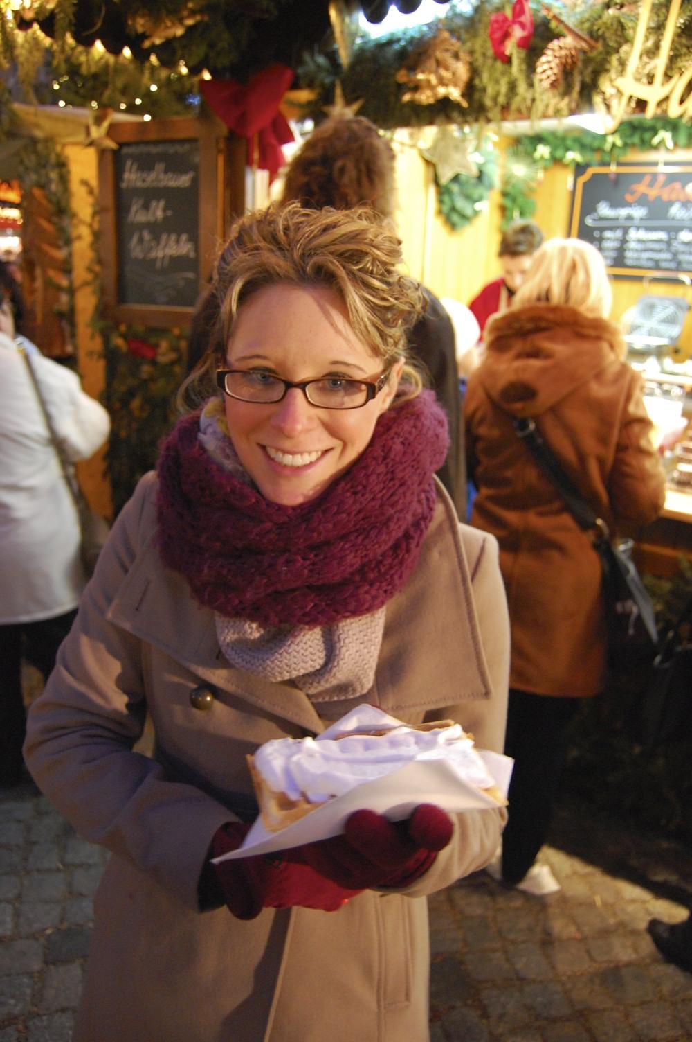Enjoying the Christmas Markets, Savannah Page