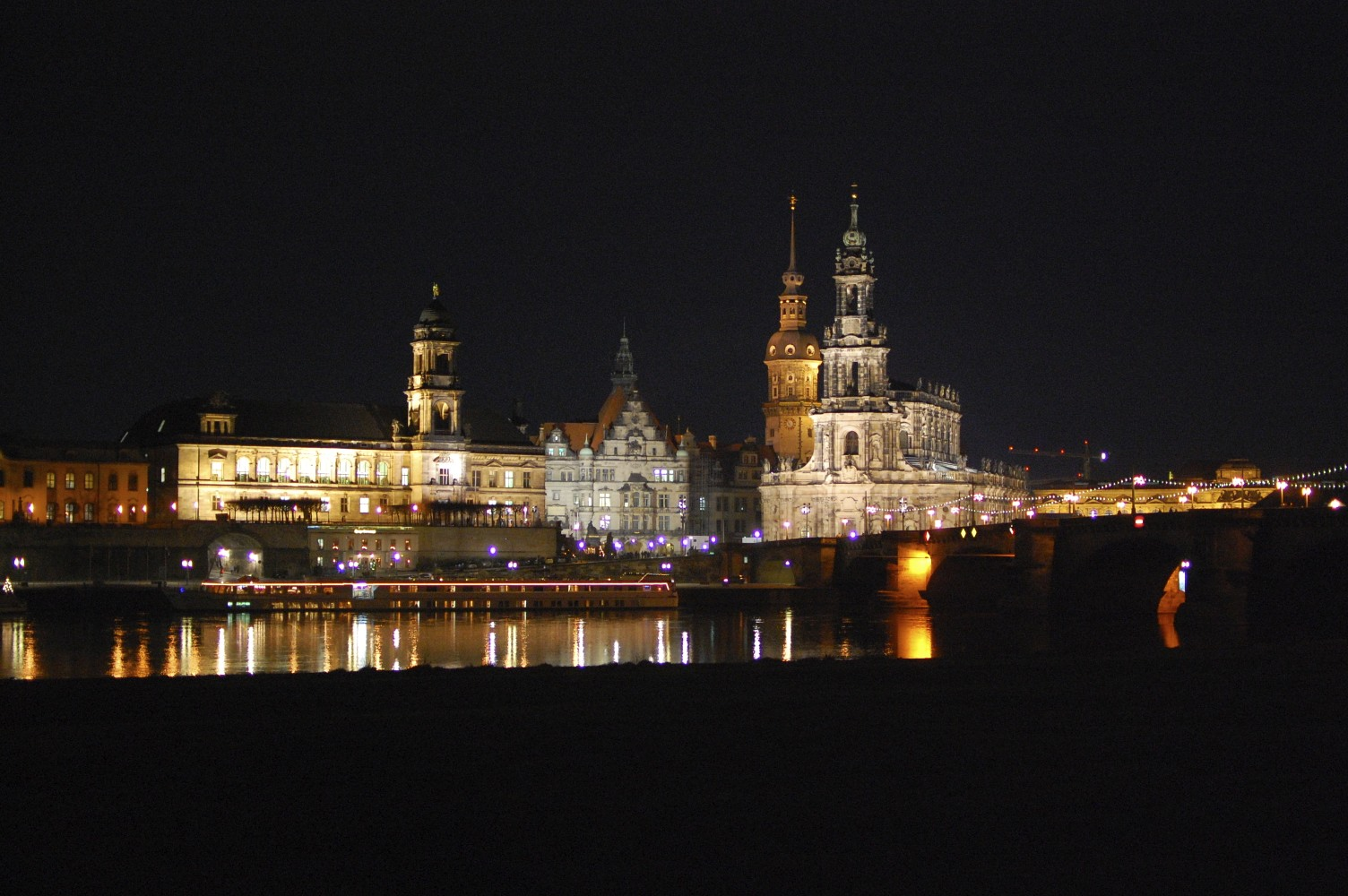 Dresden During Christmas, Savannah Page
