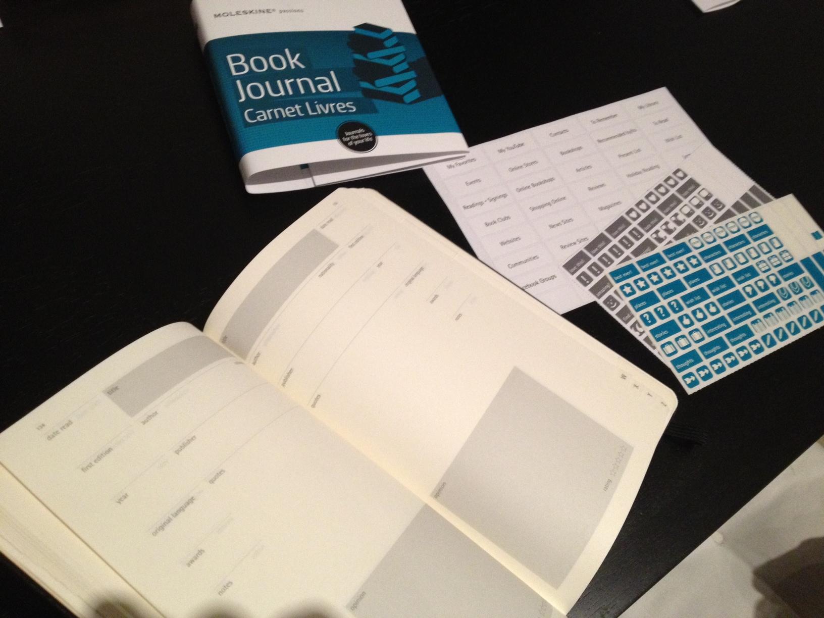 Moleskin Book Journal Inside -  Savannah Page, author