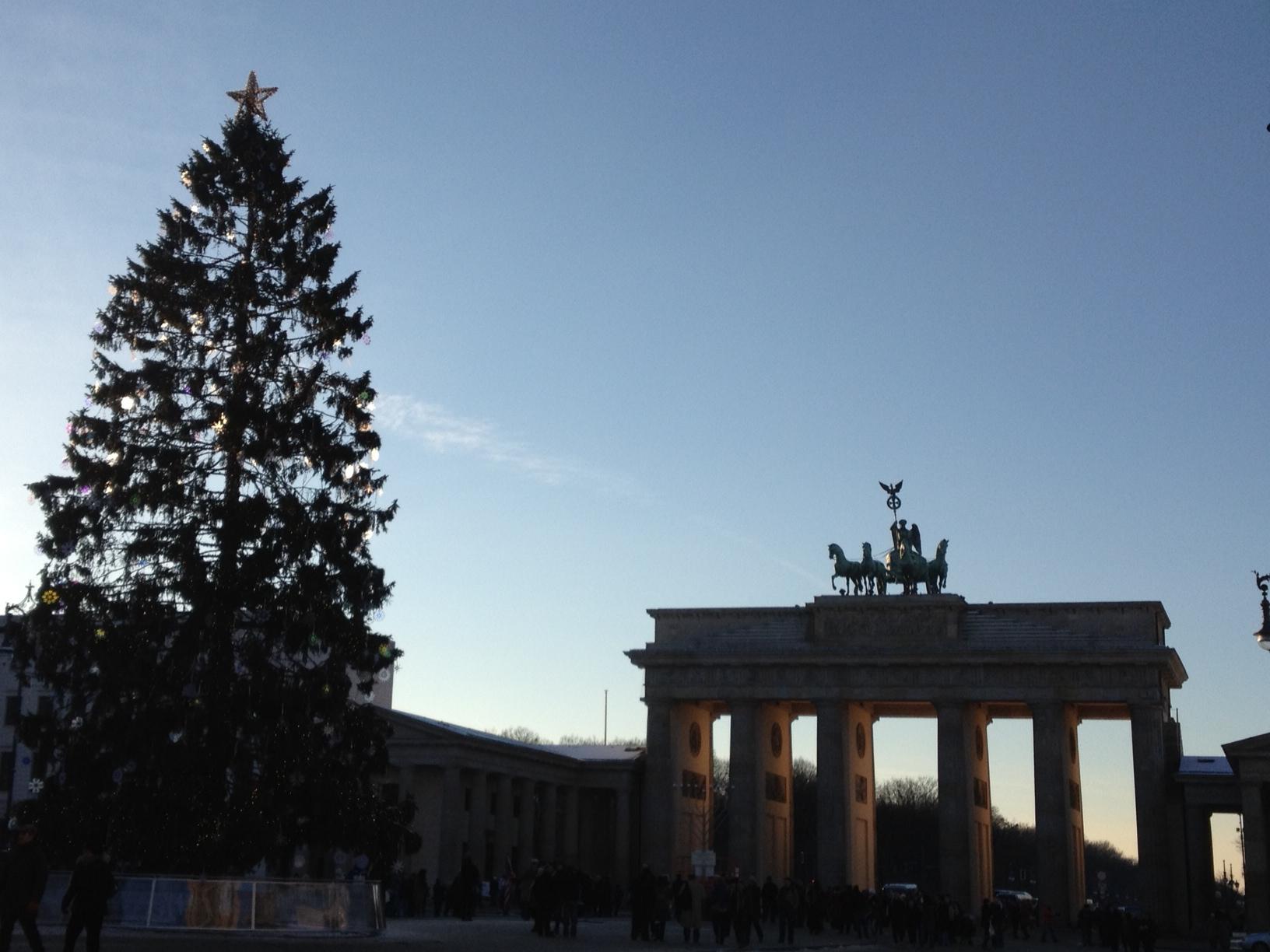 Brandenburg Gate in Berlin During Christmas Season - Savannah Page