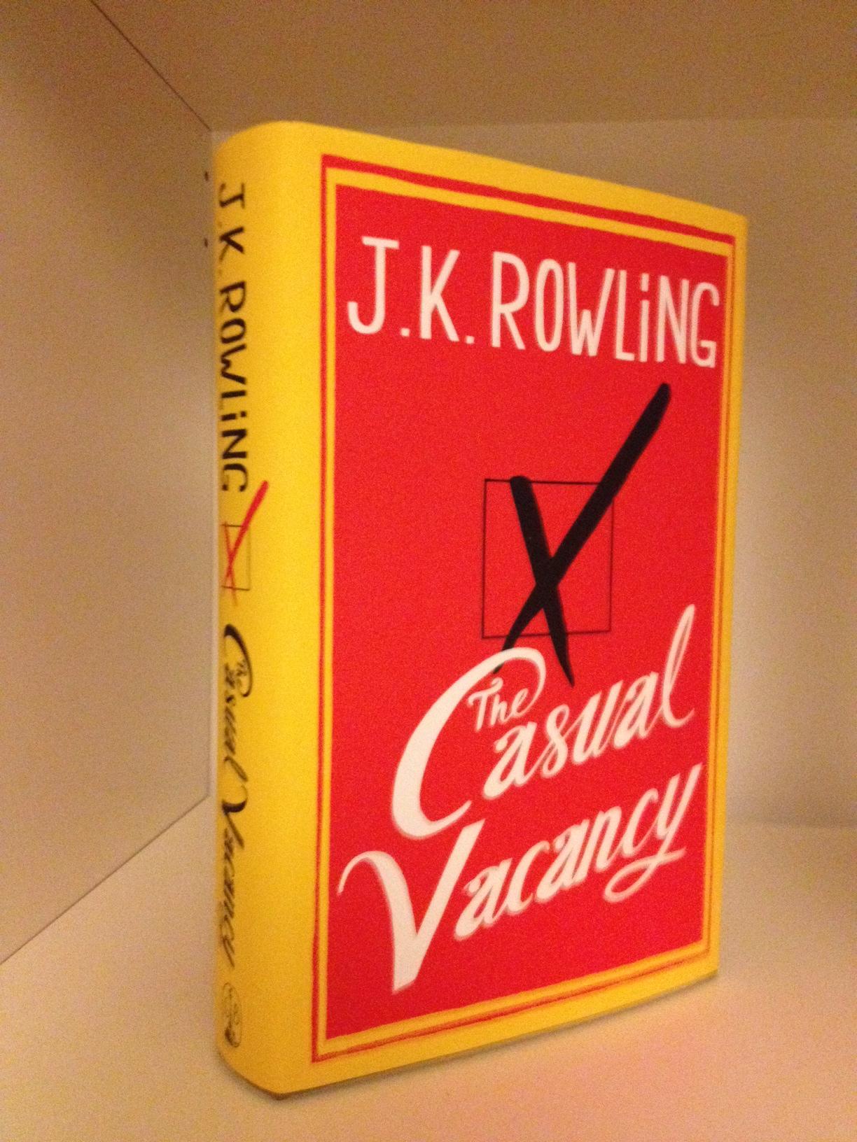 J K Rowling Book for Christmas - Savannah Page