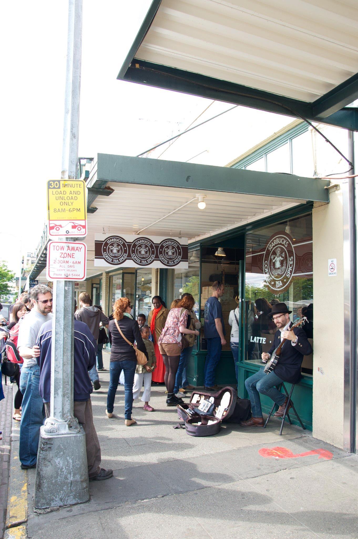 First Starbucks Location - Savannah Page