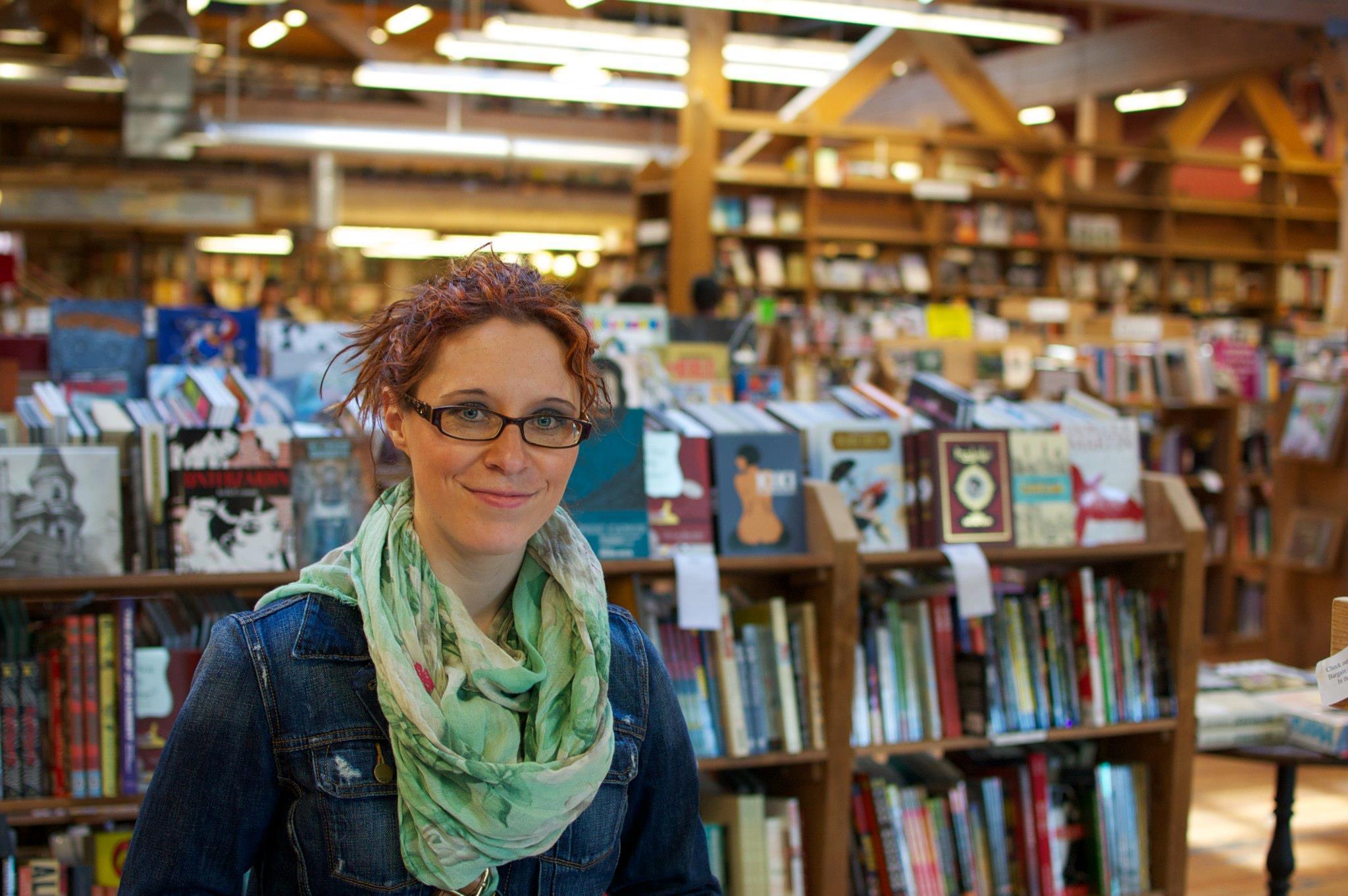 Inside Elliott Bay Book Company - Savannah Page