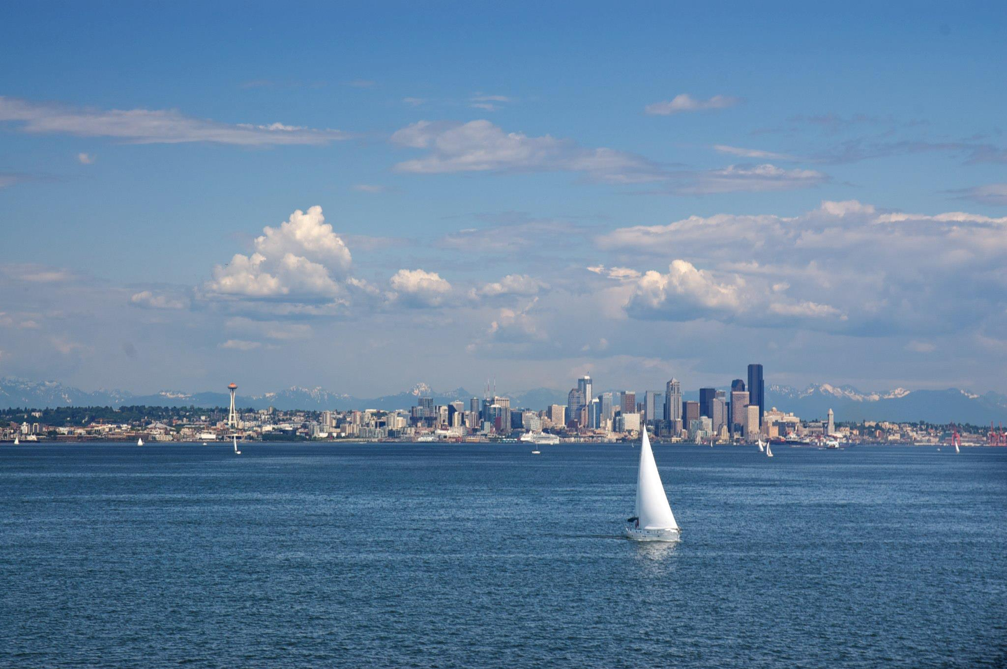 Seattle from the Water - Savannah Page